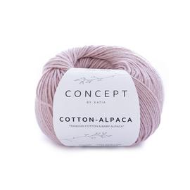 Пряжа Katia Cotton-Alpaca 90 - лососево-розовый