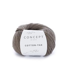 Пряжа Katia Cotton-Yak 103 - коричневый серый