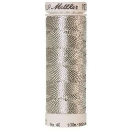 Нитки Amann Group Mettler, Metallic, вышивальные металлик, 100 м, цвет 0511