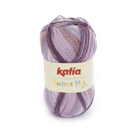 Пряжа Katia Peques Plus 52 - сиреневый