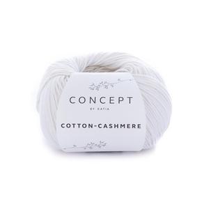 Пряжа Katia Cotton Cashmere 52 - белый