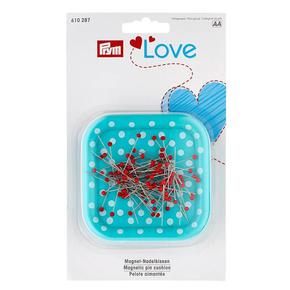 Магнитная игольница «Prym Love» с булавками со стеклянными головками-610287