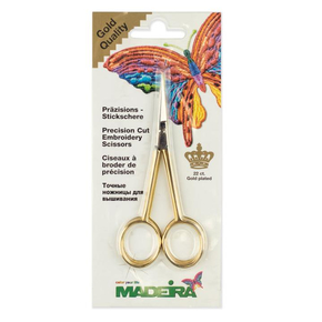 Ножницы Madeira прямые Stickschere gerade-9477