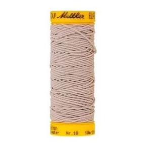 Нить-резинка Amann Group Mettler, Elastic, эластичная, 10 м, цвет 3525