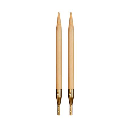 дополнительные спицы к addi click bamboo, бамбук