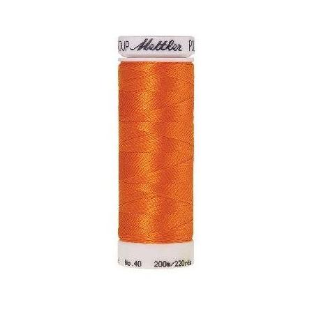 Нитки Amann Group Mettler, Poly Sheen, вышивальные, 200 м, цвет 1102