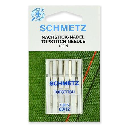 Иглы Top Stitch №80, Schmetz