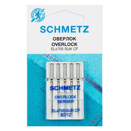 Иглы джерси для плоскошовных машин, хром № 80, Schmetz-22.40.FB1.VCS