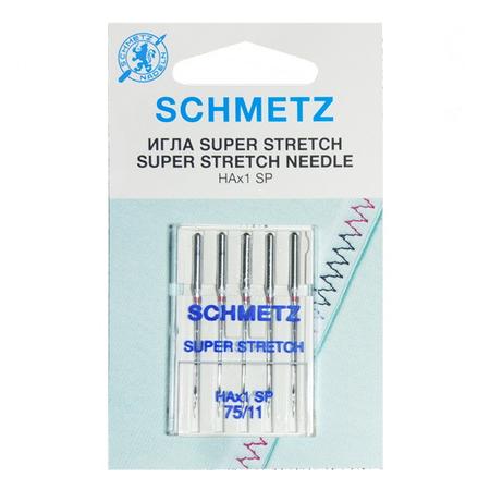 Иглы Супер Стрейч № 75, Schmetz-22:82.FB1.VMS