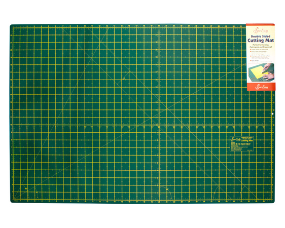 """Мат для раскройного ножа двустронний, экстра макси, 914 мм x 609 мм, 36"""" x 24"""""""