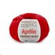 Пряжа Katia Merino Baby 4 - красный